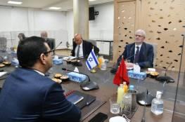 مشاورات سياسية مغربية إسرائيلية في الرباط