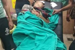 إصابة شاب وفتى بالرصاص خلال مواجهات مع الاحتلال في نابلس