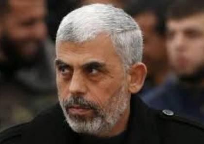 """السنوار يكشف تفاصيل علاقة أبو عاصف البرغوثي بكتائب القسام.. """"الضفة تشكل صاعق الانفجار"""""""
