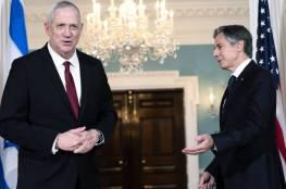 تفاصيل لقاء غانتس و بلينكن: واشنطن تؤكد ضرورة حل مشكلة قطاع غزة وإعادة إعماره