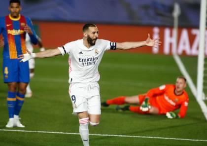 ملخص أهداف الكلاسيكو بين ريال مدريد وبرشلونة في الدوري الإسباني (فيديو)