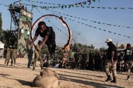 صور: حماس تختتم مخيماتها الصيفية في قطاع غزة