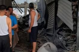 مركز حقوقي يكشف تفاصيل انفجار سوق الزاوية بغزة: نجم عن انفجار عبوات ناسفة كبيرة الحجم..
