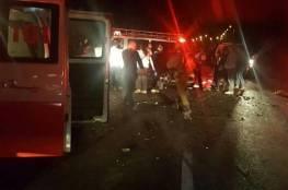 رام الله: 4 إصابات في حادثي سير ناجمين عن تدني الرؤية
