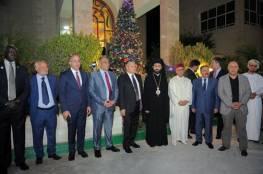 إضاءة شجرة الميلاد في سفارة دولة فلسطين في أبوظبي