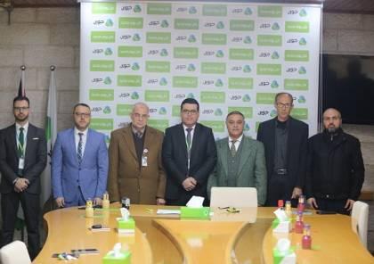 جوال و مؤسسة فلسطين المستقبل توقعان اتفاقية دعم لتجهيز قسم العلاج الوظيفي
