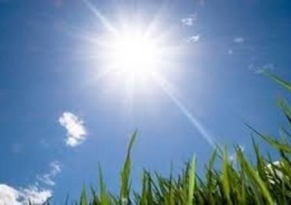حالة الطقس : ارتفاع درجات الحرارة
