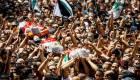 تشييع جثامين شهداء غزة
