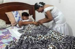 ممرضة تغادر حفل زفافها للعناية بأحد مرضاها