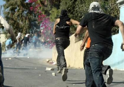 مواجهات بين الشبان وقوات الاحتلال في الخضر