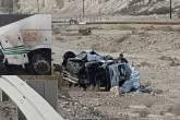صور ..مصرع رجل وامرأة ورضيع في حادث مروع قرب البحر الميت