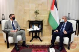 اشتية: القيادة ترفض محاولات الابتزاز الإسرائيلية المتعلقة بأموال المقاصة