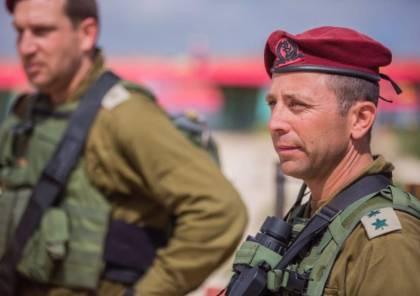 تعيين قائد جديد لفرقة الضفة بالجيش الإسرائيلي...