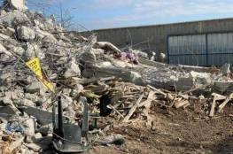 إسرائيل تهدم قاعة أفراح في الطيرة