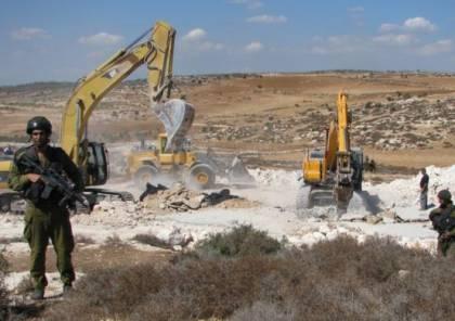 الاحتلال يهدم منزلا في بيت حنينا