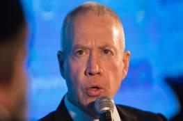 غالنت: إسرائيل لن تسمح لإيران بفتح جبهة في الجولان