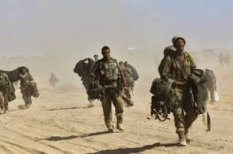قوات الاحتلال تنفذ مناورات عسكرية في الأراضي الزراعية غرب جنين