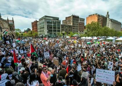 """30 منظمة محلية في ولاية أميركية تطالب بإنهاء الدعم العسكري لـ""""إسرائيل"""""""