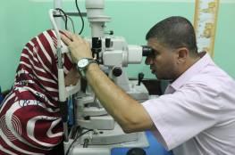 """""""الخدمة العامة"""" تبدأ في تنفيذ مشروع زراعة قرنيات لمرضى العيون في غزة"""