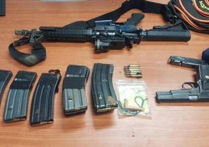 شرطة الاحتلال تضبط 690 قطعة سلاح في الوسط العربي داخل الخط الأخضر
