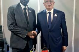المالكي يطلع نظيره الغامبي على المستجدات السياسية في فلسطين