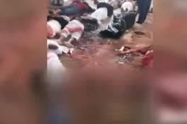 شاهد: اللحظات الاولى لمجزرة مسجد العريش و انطلاق عملية عسكرية واسعة في سيناء