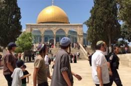 القدس: قائد الشرطة الاسرائيلية يقود اقتحاماً استفزازياً للمسجد الأقصى
