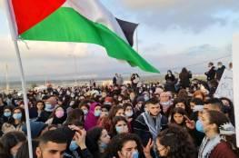 الآلاف يحتجون في طمرة على مقتل شاب برصاص الشرطة الاسرائيلية