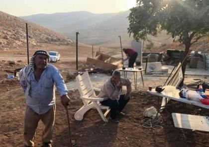الاحتلال يهدم مسكناً في خربة طانا شرق نابلس