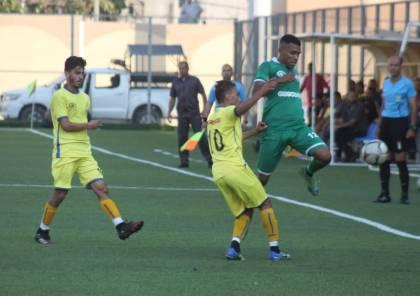 7 مباريات في دوري غزة الاثنين
