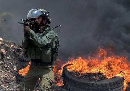 إصابة 4 مواطنين بالرصاص والعشرات بالاختناق خلال قمع الاحتلال مسيرة كفر قدوم