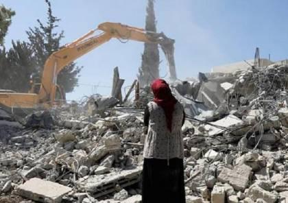 الاحتلال يُجبر عائلة مقدسية على هدم منزلها ذاتيا