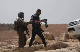 الخليل: الاحتلال يفرج عن سبعة صحفيين بعد استدعائهم للتحقيق