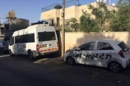 إعطاب إطارات 15 مركبة بقرية دير عمار غرب رام الله