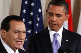 أوباما يتحدث عن محاولاته إقناع مبارك بالتنحي عن منصبه وهكذا وصف القاهرة ..