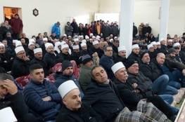"""أهالي الجولان المحتل يعلنون الإضراب العام رفضاً لـ """"للمراوح"""" الإسرائيلية"""