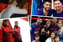 """ميسي يهاجم إدارة برشلونة في رسالة مؤثرة لصديقه """"المطرود"""" سواريز"""