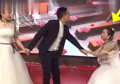 فيديو: فتاة صينية تفسد حفل زفاف حبيبها السابق