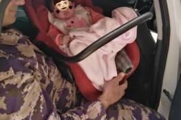 الدفاع المدني ينقذ طفلة في جنين