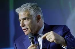 لبيد: لن يتم تشكيل حكومة بأصوات اتباع كهانا العنصريين