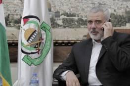 """هنية يهاتف رئيس وزراء المغرب لبحث مخاطر """"صفقة القرن"""""""