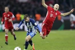 هيرتا برلين يقدم هدية للايبزيج بالتعادل مع بايرن ميونخ