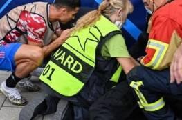 رونالدو يسقط موظفة أمن الأرض بتسديدة صاروخية