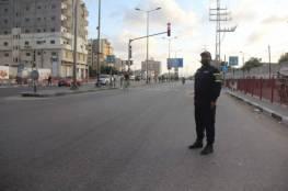 استمرار سريان منع حركة المركبات في قطاع غزة لليوم الثالث..صور