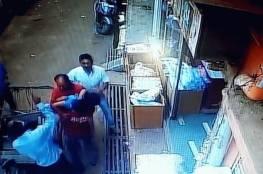 فيديو.. معجزة تنقذ طفلًا من موت محقق بعد سقوط قاتل