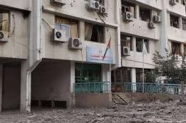 نجاة رئيس المكتب الاعلامي الحكومي سلامة معروف من قصف للاحتلال