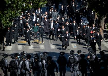 تصاعد حدة الاحتجاجات في الأماكن التي يسكنها الحريديم
