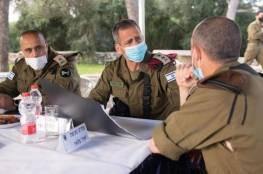 بالصور: كوخافي يُجري زيارة لمنظقة الضفة لفحص جاهزية الجيش الاسرائيلي