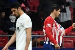 أتلتيكو مدريد يهزم فالنسيا ويؤجل تتويج برشلونة
