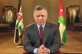 العاهل الاردني الملك عبد الله الثاني يحل مجلس النواب..